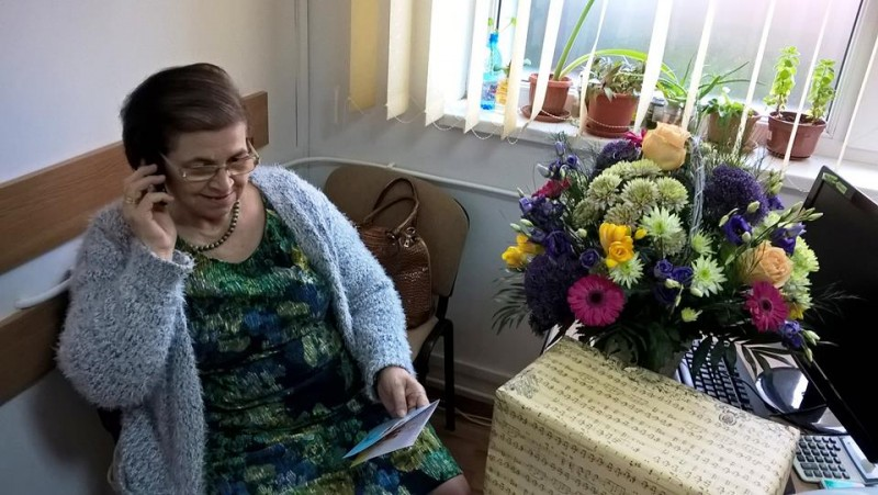 Medicul Ecaterina Chihaia, epidemiologul șef al DSP Botoșani, a ieșit la pensie - FOTO