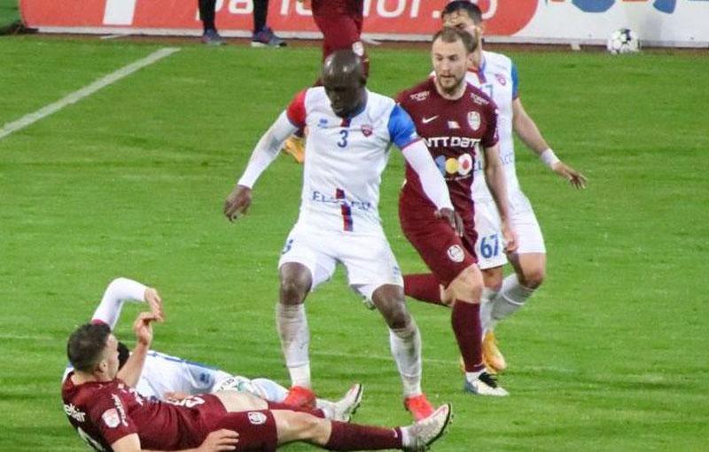 Meleke ar fi putut reveni la Botoșani, însă Valeriu Iftime a refuzat propunerea CFR-ului