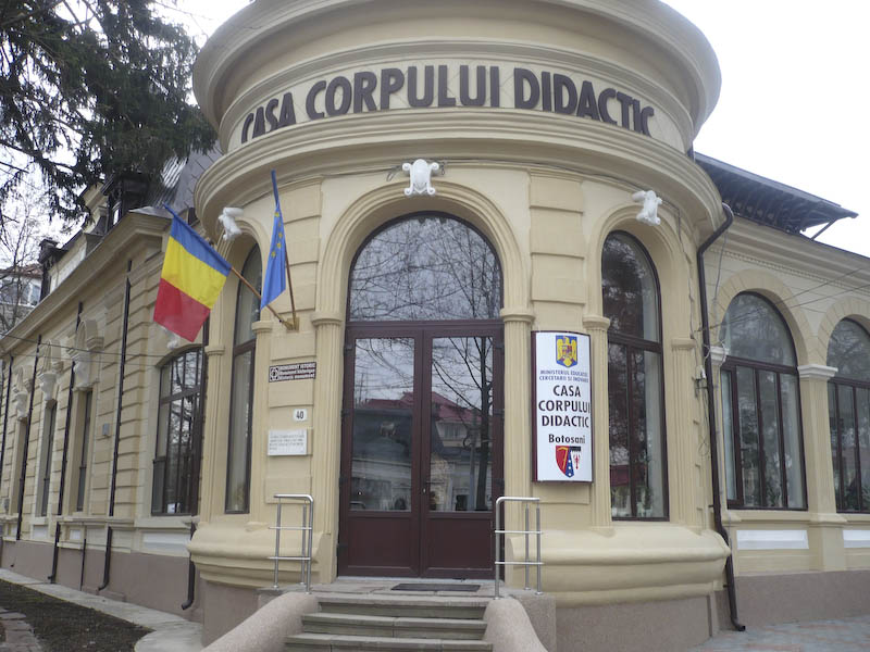 Mesaj al Casei Corpului Didactic din Botoșani, de Ziua Mondială a Educației