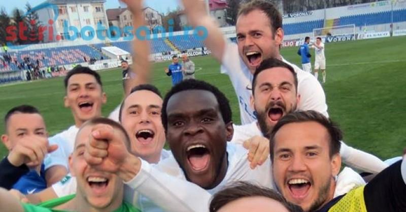 """Mesajul lui Michael Ngadeu pentru suporterii FC Botosani: """"Impreuna putem fi mai buni decat CSMS Iasi"""""""