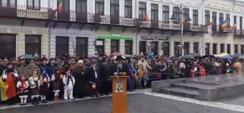 """Mesajul preşedintelui Consiliului Judeţean, de Ziua Naţională a României: """"Vă invit să ne bucurăm împreună"""""""