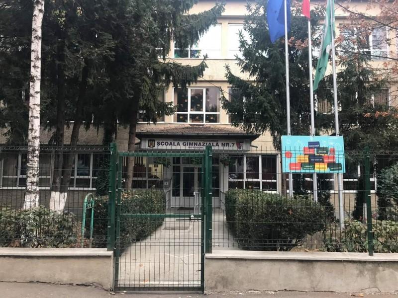 Mesajul Școlii Gimnaziale Nr.7 Botoșani
