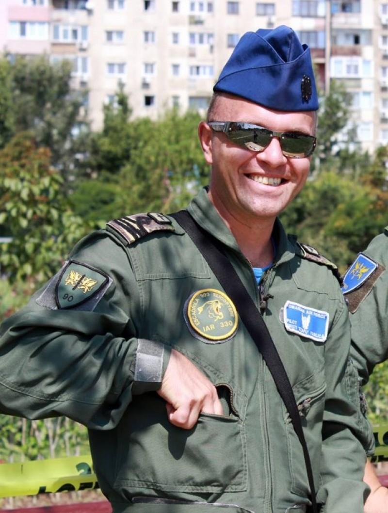 Mesajul Statului Major al Forţelor Aeriene, la moartea pilotului botoşănean!