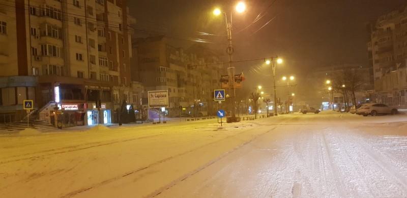 Meteo: Viscol și ninsori în toată țara, COD GALBEN la Botoșani!