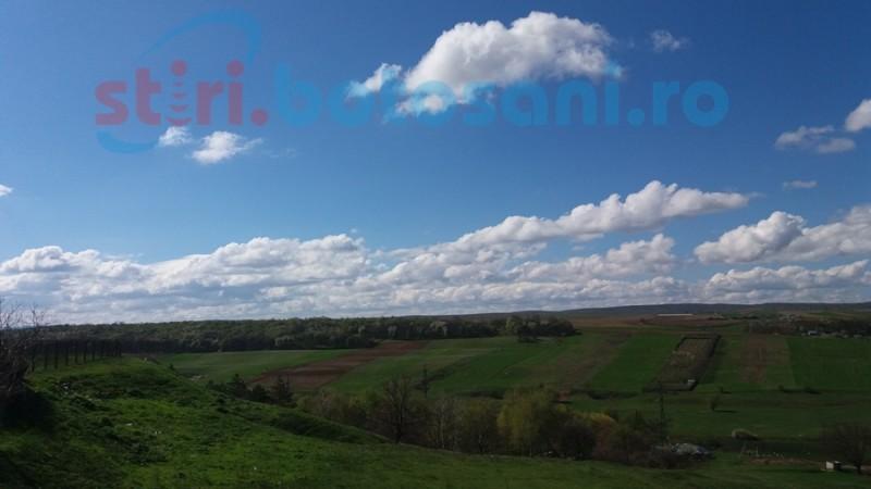 Meteorologii anunţă precipitaţii, aşteptate de agricultorii din nordul judeţului Botoşani