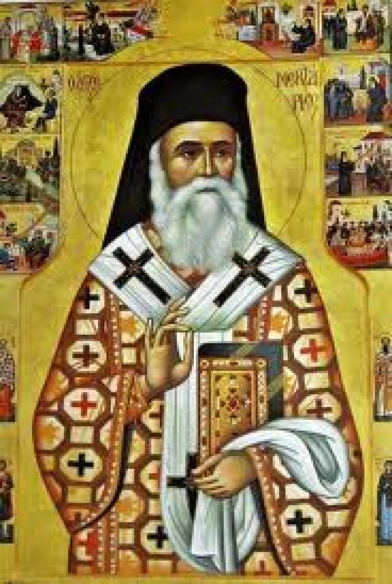 Miercuri, Moastele Sfantului Ierarh Nectarie vor fi aduse la Botosani