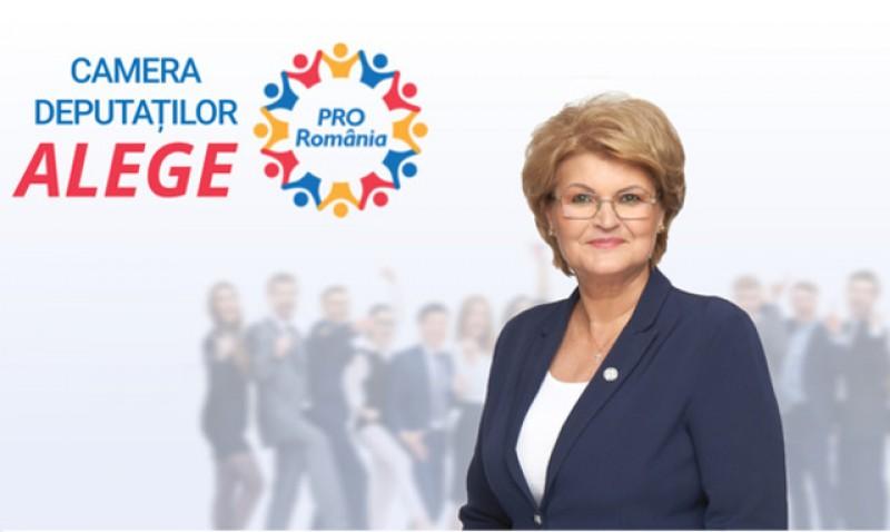 Mihaela Huncă, deputat Pro România: 1 ban-atât valorează bunăstarea poporului român în ochii guvernului Orban