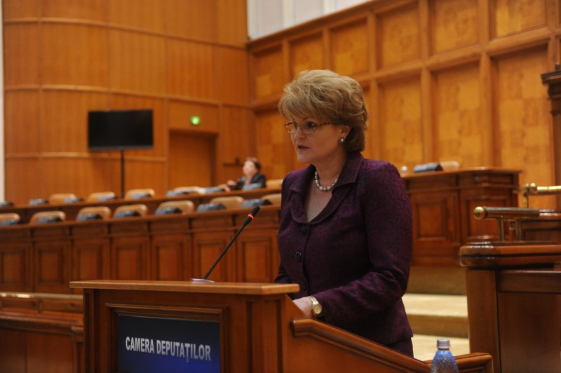 """Mihaela Huncă: """"Îi propun ministrului educației să dezvoltăm cadrul legal privind relația dintre piața forței de muncă și comunitatea profesorilor și elevilor"""""""