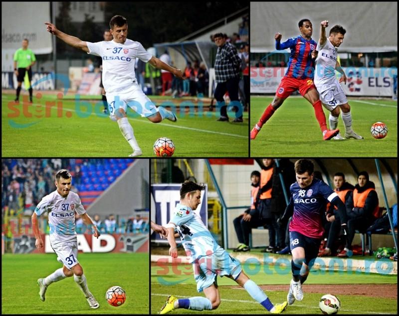 MIHAI BORDEIANU, fotbalistul din Flamanzi, ajuns om de baza la FC Botosani! GALERIE FOTO