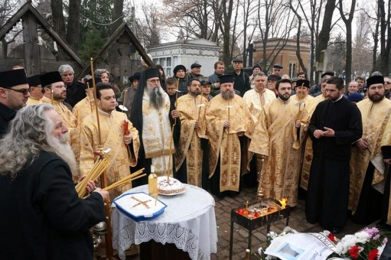 Mihai Eminescu a fost pomenit la mormântul său, de la Cimitirul Bellu