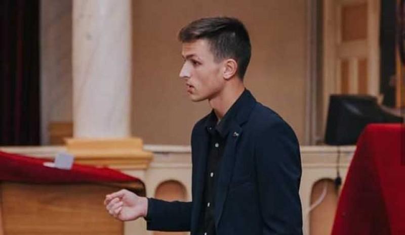Mihai Iftimie, noul președinte al Consiliului Județean al Elevilor de la Botoșani!