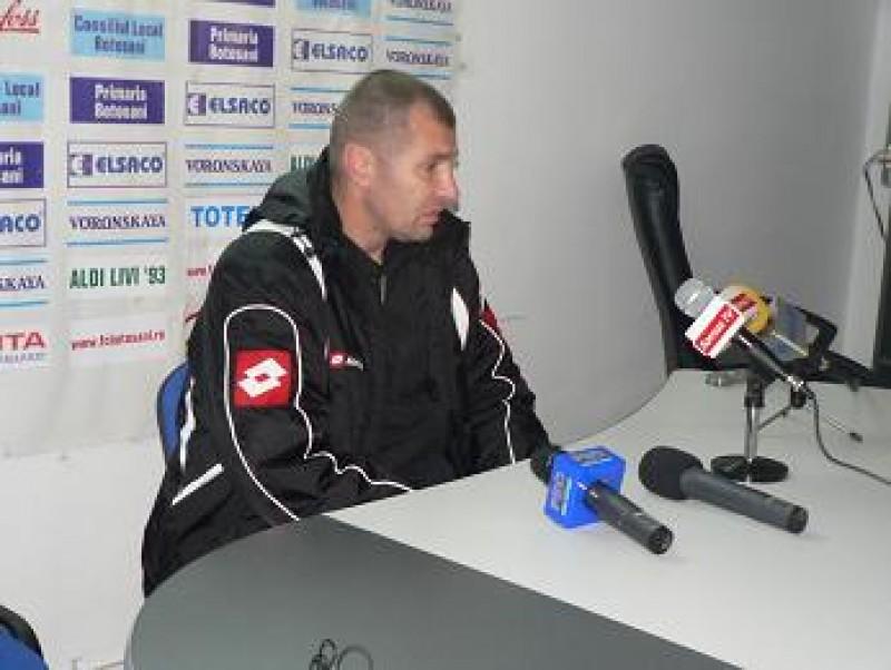 Mihai Ionescu: Ne-am dorit victoria