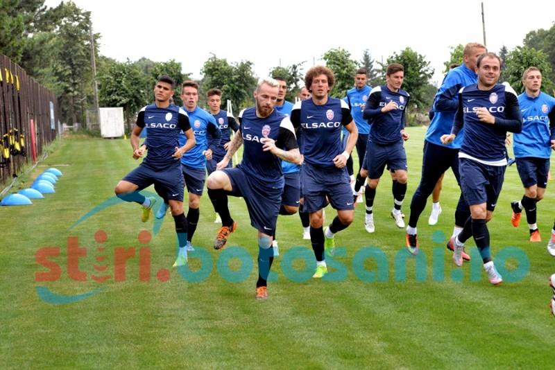 Mihai Roman, Victor Astafei si Kunle Odunlami au efectuat primul antrenament cu FC Botosani! FOTO