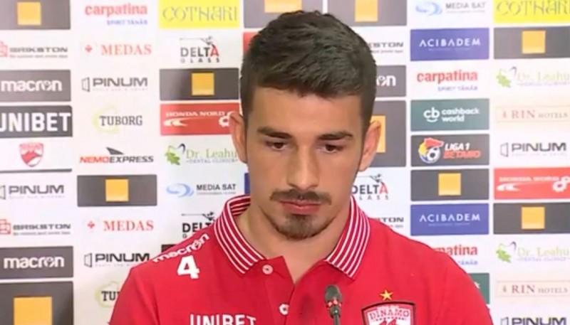 """Mijlocașul lui Dinamo, după înfrângerea de la Botoşani: """"Suntem o ruşine!"""""""
