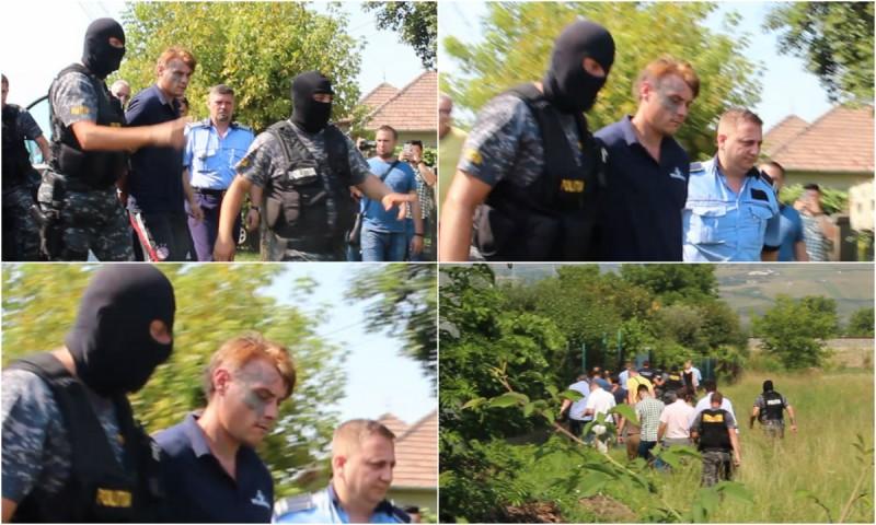 Suspectul crimei de la Coțușca, dus la reconstituire la Alba Iulia, unde a omorât o femeie! Detalii șocante au ieșit la iveală! VIDEO