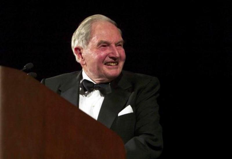 Miliardarul David Rockefeller a murit la 101 ani