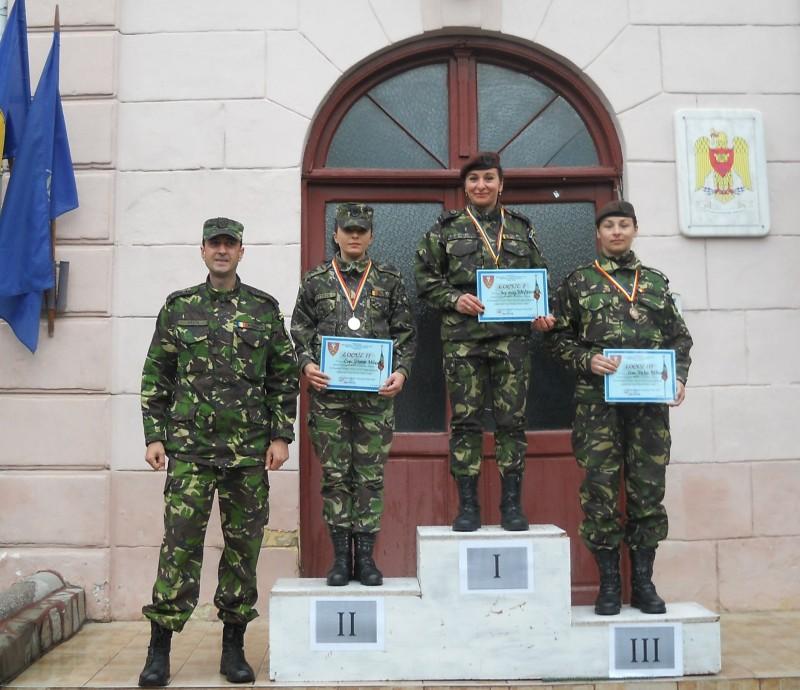 Militari botoșăneni, pe podiumul Campionatului militar de pentatlon!