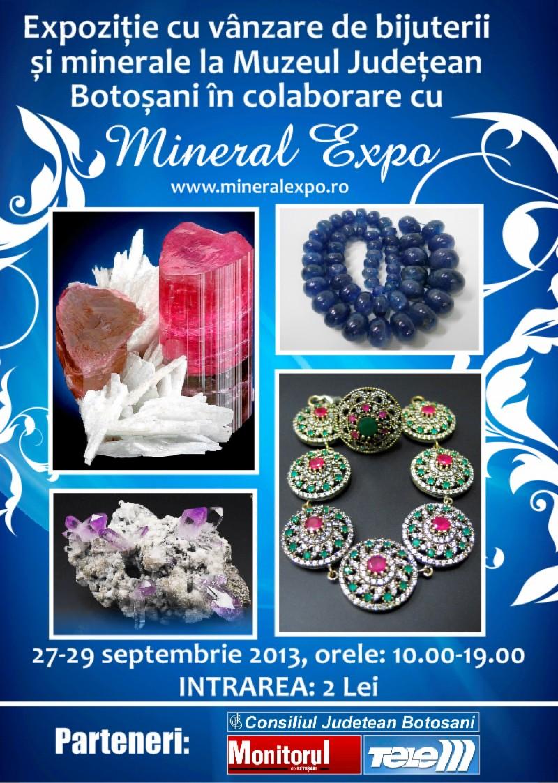 Mineral Expo Botoşani - sclipire în prag de toamnă