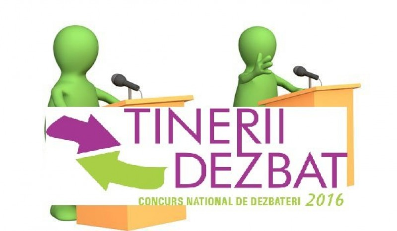 "Ministerul Educatiei: Concursul national de dezbateri ""Tinerii dezbat"" devine olimpiada nationala"