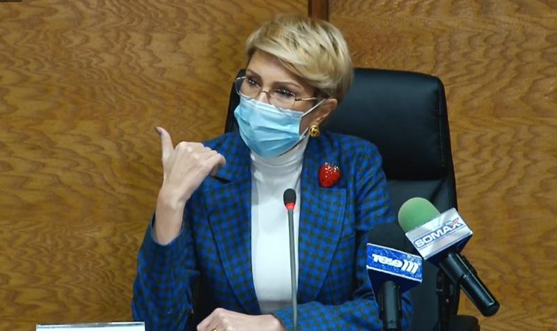 Ministrul Muncii, Raluca Turcan, mulțumită și nu prea de ce a găsit la Botoșani