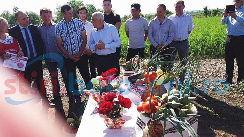 Ministrul Agriculturii, în vizită de lucru în judeţul Botoşani - FOTO