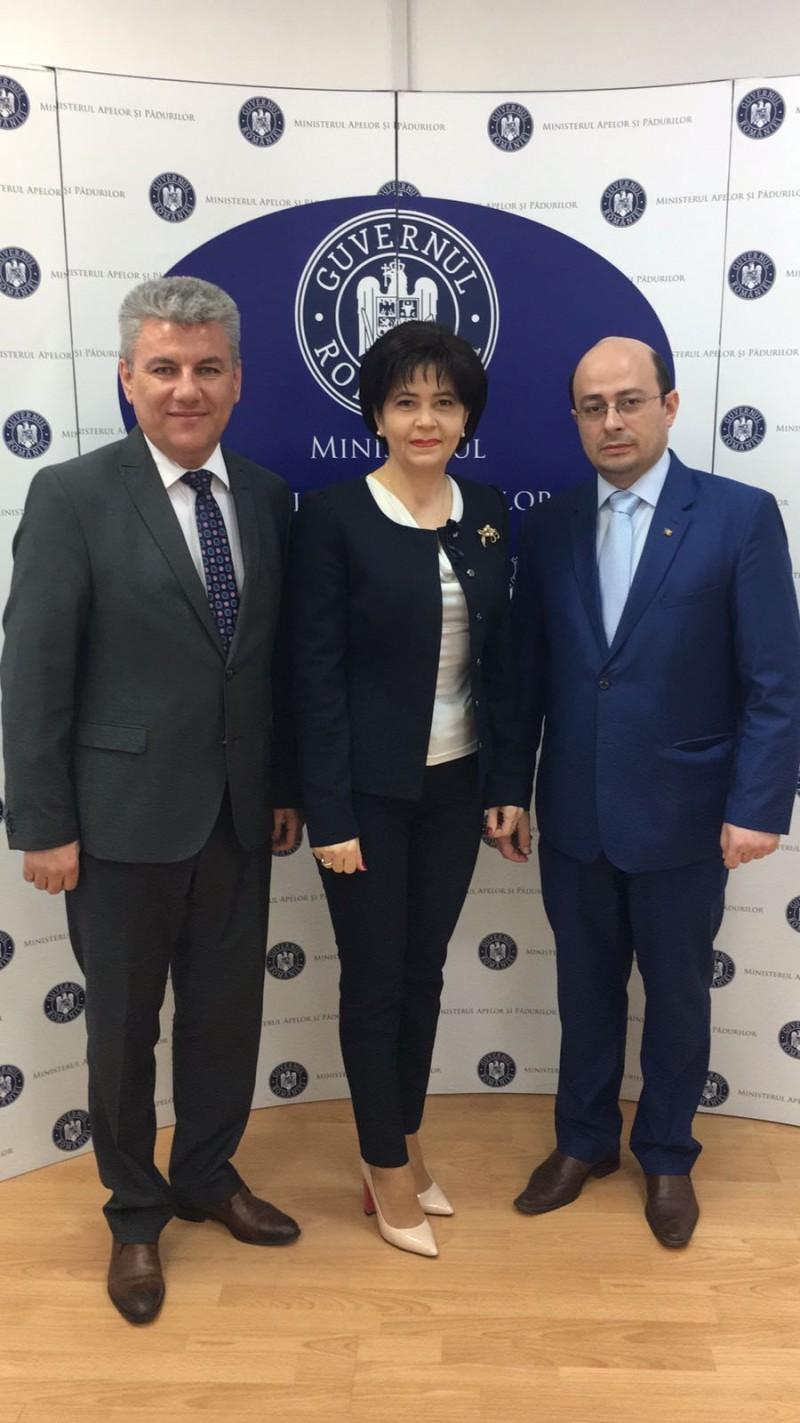 Ministrul Apelor și Pădurilor vine la Botoșani