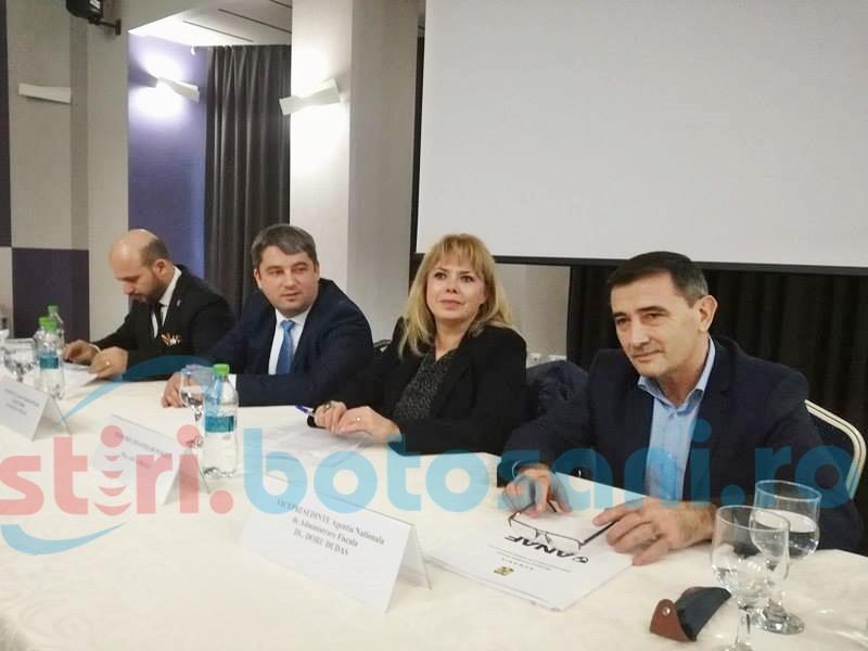 Ministrul Finanțelor, întâlnire cu afaceriștii și finanțiștii botoșăneni-FOTO