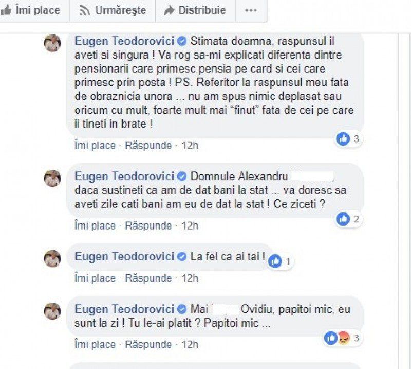 """Ministrul Finanțelor se ceartă pe Facebook cu românii: """"Vă doresc să aveți zile câți bani am eu de dat la stat"""""""