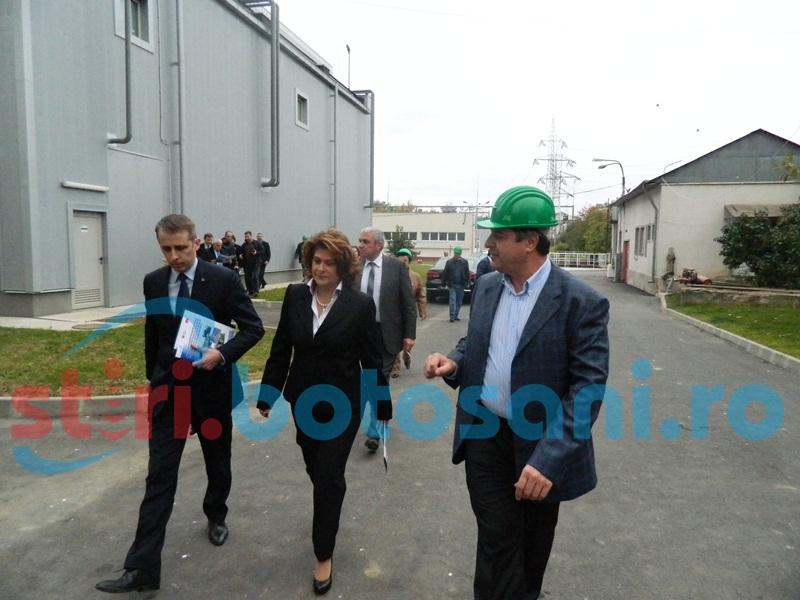 """Ministrul Mediului despre investiția de la Modern Calor: """"Un model pentru toată România"""" FOTO"""