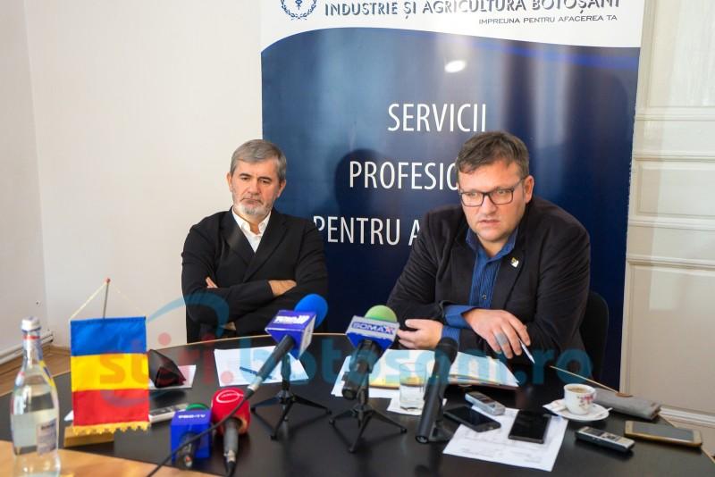 """Ministrul Muncii s-a întâlnit, la Botoșani, cu oamenii de afaceri din județ: """"Trebuie să stăm la aceeași masă pentru a ajunge la un numitor comun"""" - VIDEO"""