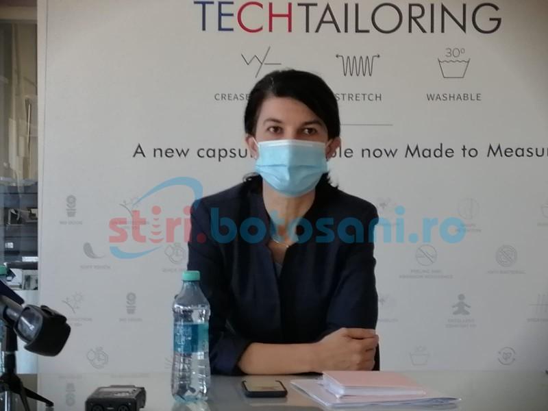 """Ministrul Muncii, Violeta Alexandru: """"44 de milioane de lei au fost trimise către Botoșani pentru plata șomajului tehnic"""""""