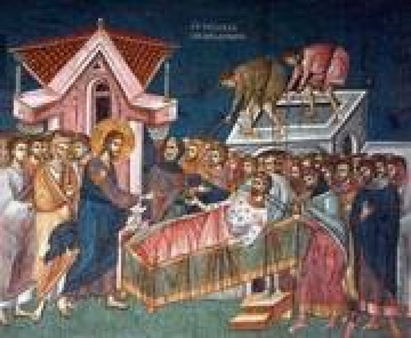 Minunea vindecării slăbănogului din Capernaum - VIDEO