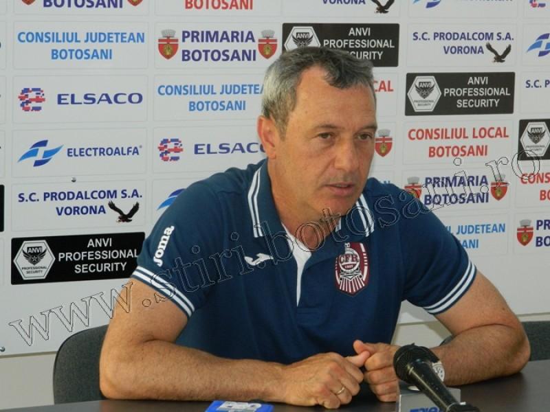 """Mircea Rednic, antrenor CFR Cluj: """"Astăzi nu meritam să câștigăm"""""""