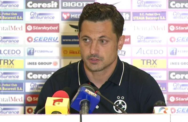 """Mirel Radoi surprinde: """"Ne luptăm cu CFR, Astra, FC Botoşani şi CSU Craiova"""""""