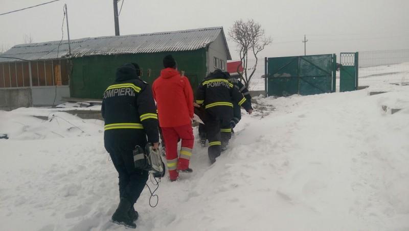 Misiune dificilă pentru pompierii botoșăneni, în județul Tulcea - FOTO