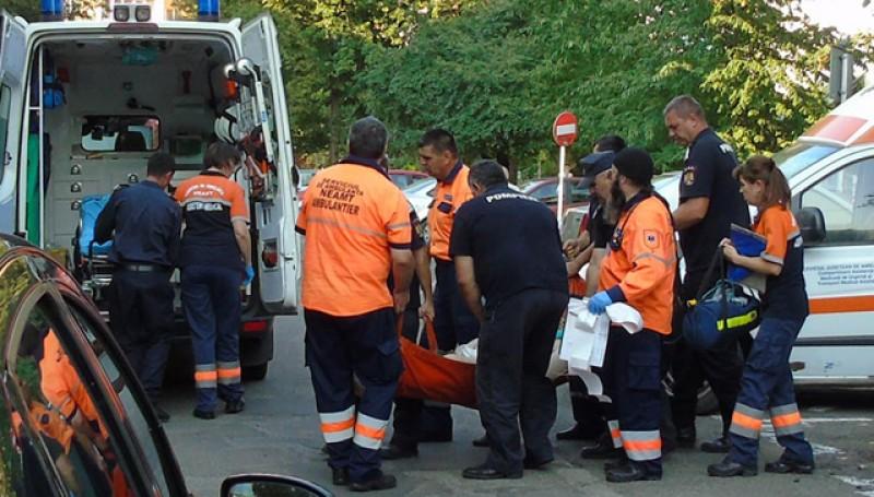 Mobilizare de forțe pentru transportul unui pacient de 250 de kilograme!