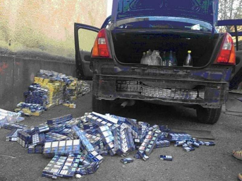 Moldovean prins cu tigari si alcool fara documente! Bunurile au fost confiscate de politisti!