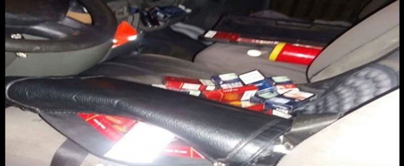 Moldovean prins cu țigări și alcool în mașină, pentru care nu avea acte de proveniență!