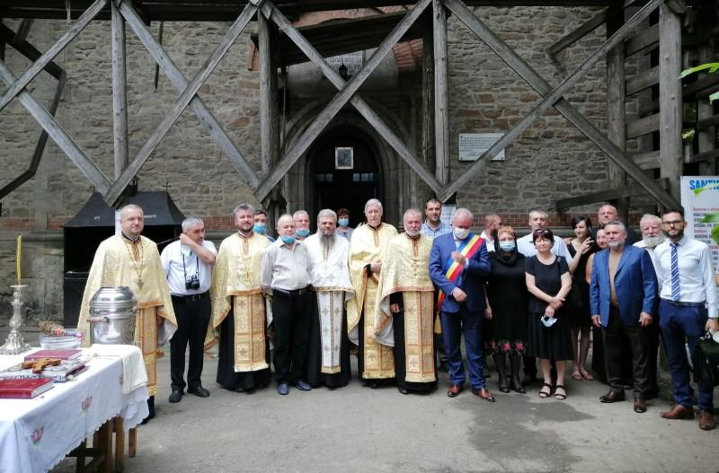 """Moment istoric pentru Biserica """"Sfântul Gheorghe"""" din Botoșani: au început lucrările de reabilitare"""