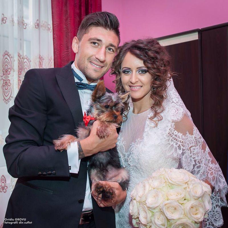 MONDEN: Fostul capitan al echipei FC Botosani s-a casatorit! FOTO