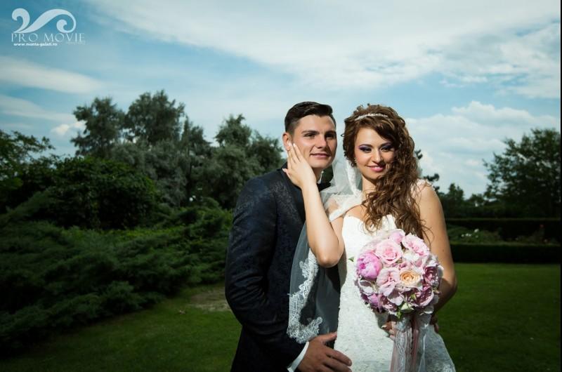 MONDEN: Vezi o GALERIE FOTO inedita de la nunta jucatorului de la Botosani, George Cirjan!