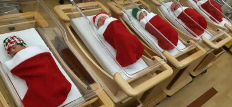 Moș Crăciun le-a adus cel mai frumos cadou: 10 bebeluși au venit pe lume zilele acestea la Maternitatea Botoșani