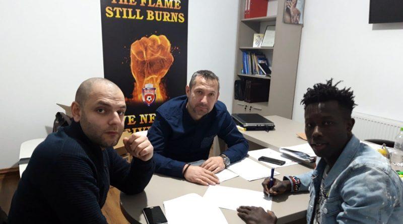 Moussa Diakite a semnat cu FC Botoșani