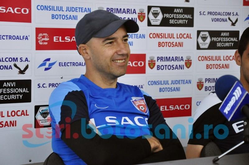 """Mugurel Cornăţeanu: """"Nu mă gândesc să rămân indiferent de rezultatul meciului cu Dinamo. Am venit cu Leo si voi pleca cu el"""""""