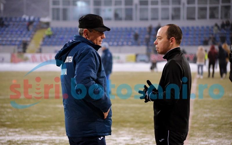 """Mulțescu, furios după meciul de la Botoșani: """"Am depus contestație. Noi jucăm pe iarbă, nu pe gheață!"""""""