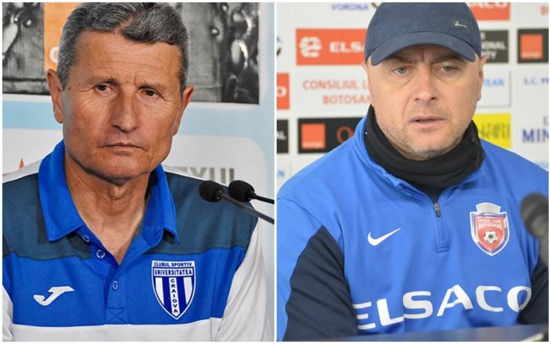 """Mulțescu pune presiune pe arbitrii de la meciul cu Botoșani! Grozavu îi raspunde: """"Asta e o practică comunistă. Va fi război la ora meciului"""""""