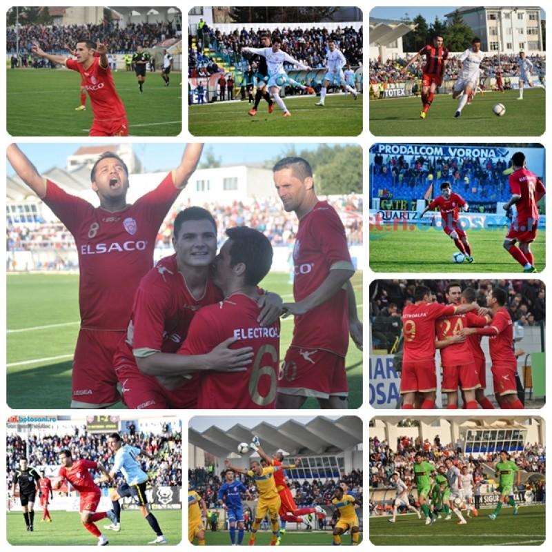 MULTUMIM, FC BOTOSANI! Video cu cele 36 de goluri marcate in primul sezon de Liga 1 - STATISTICA + FOTO