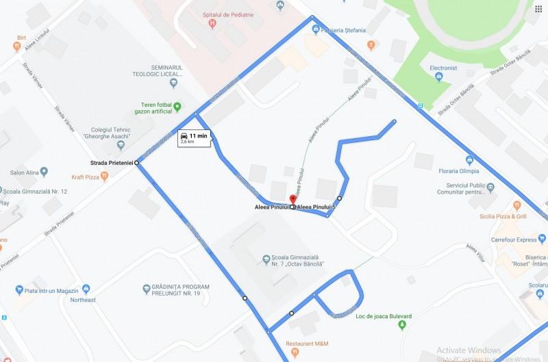 Municipalitatea ia măsuri în defluirea rutieră din zona Școlii 7