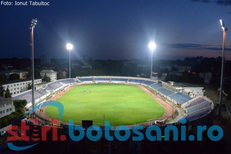 """Nebunie pe """"Municipal""""! Botosanenii au luat cu asalt stadionul pentru a vedea NOCTURNA - GALERIE FOTO"""