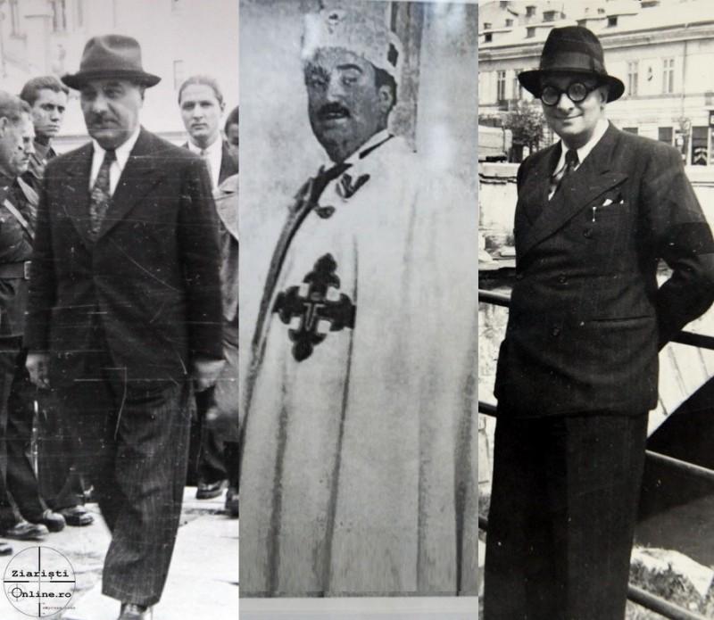 Nichifor Crainic, Pamfil Seicaru, Radu Gyr, condamnati la moarte si inchisoare de sotia lui Brucan, acuzatorul public Sidorovici